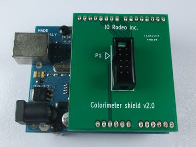 Connect the Colorimeter to the Arduino