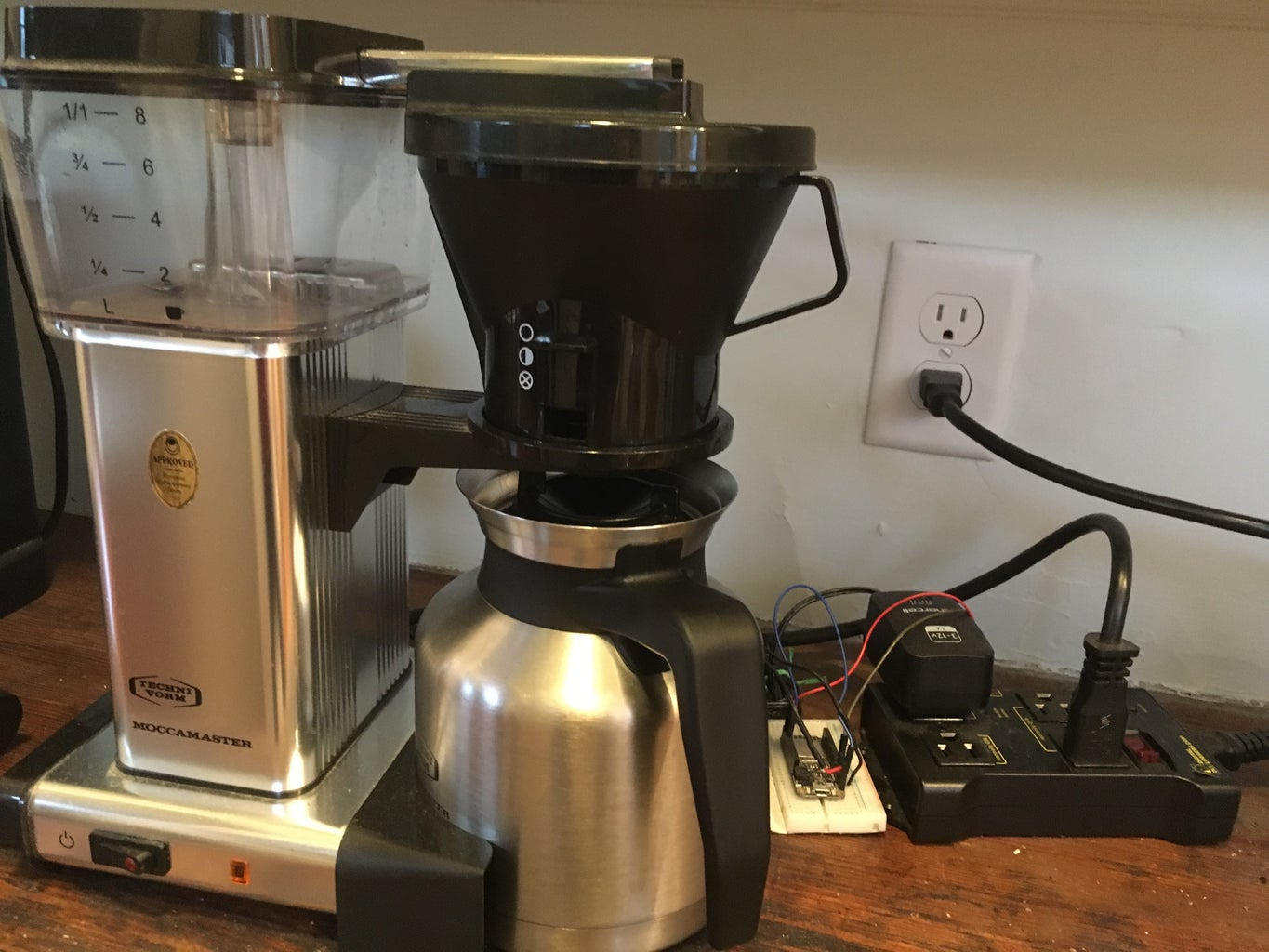 Remote Controlled Coffee Maker