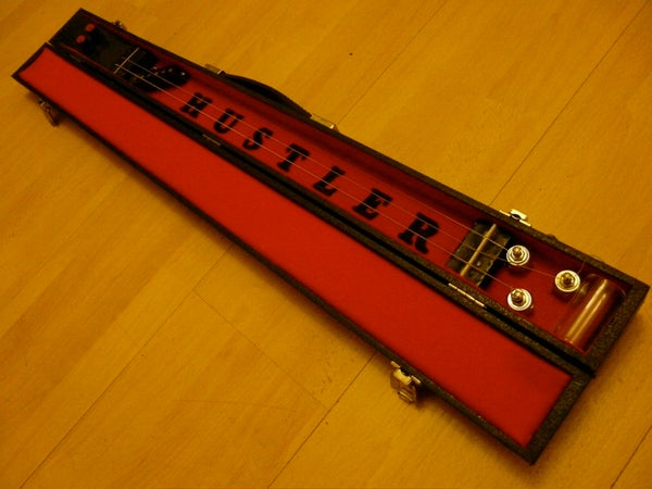 Make a Lap Steel Guitar Out of a Pool Cue Case