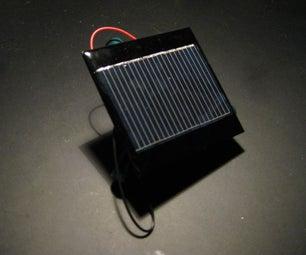 How to Make a Solar Robot!
