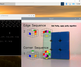 Real-time Rubik's Cube Blindfolded Solver Using Raspberry Pi and OpenCV