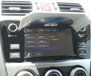 DIY Car LCD Sun Shader