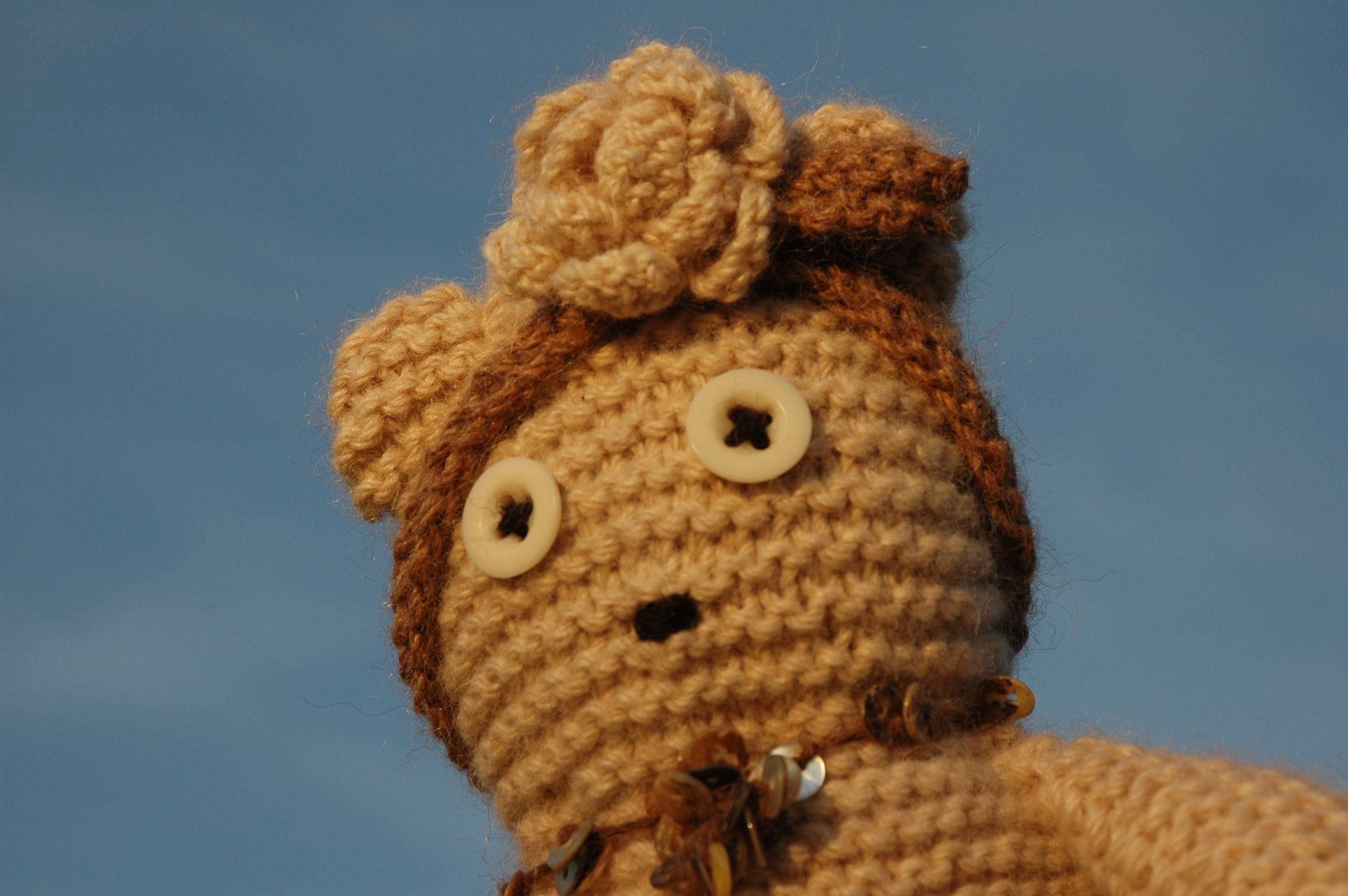 Basic Knitted Teddy Bear