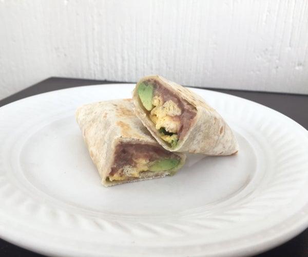 Easy and Delicious Breakfast Burrito