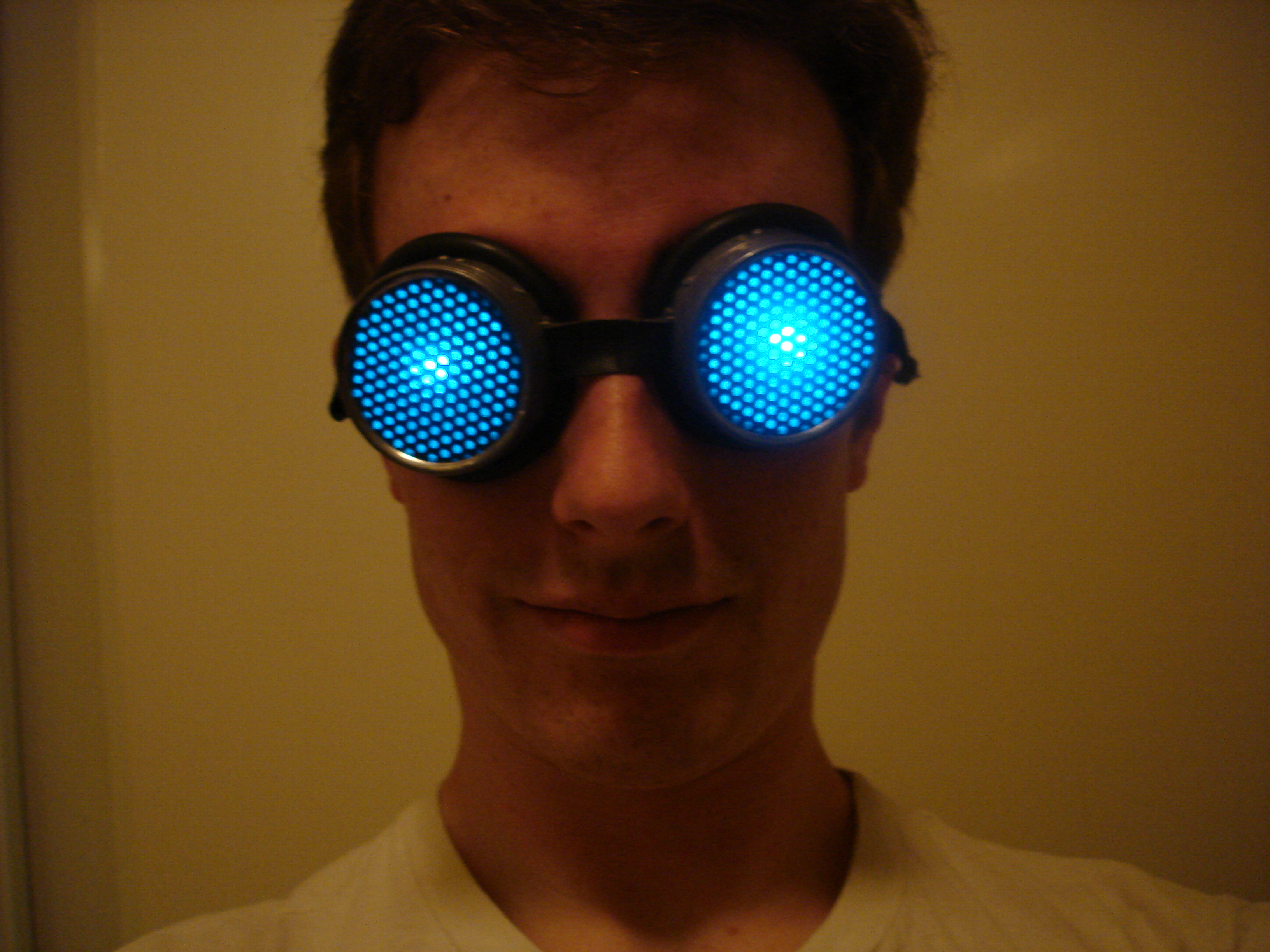 Light Up Goggle Mod