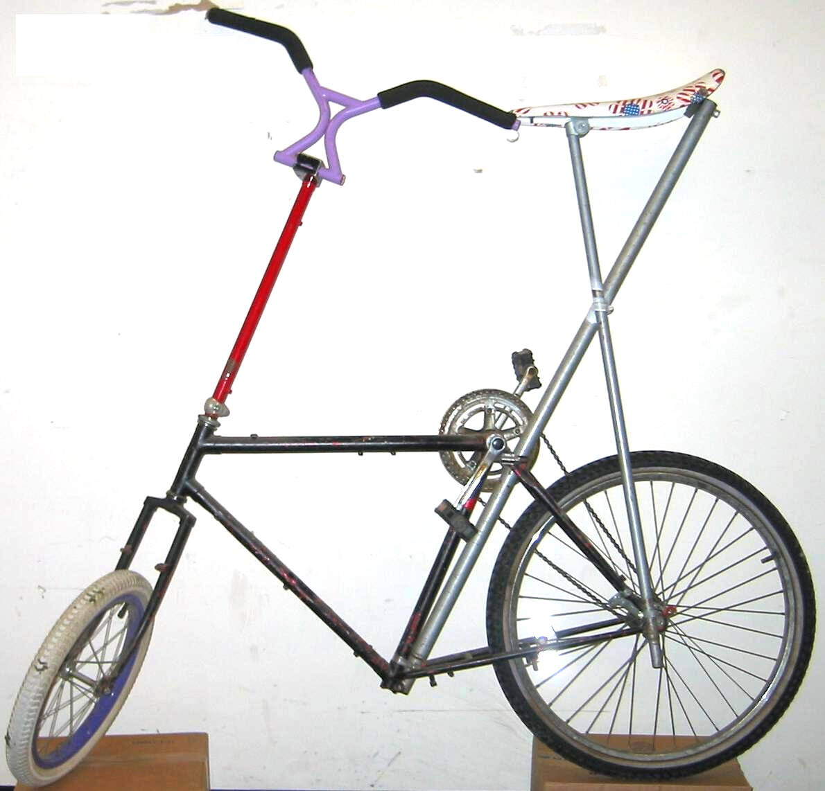 Build Your Own Tall Bike Without Welding
