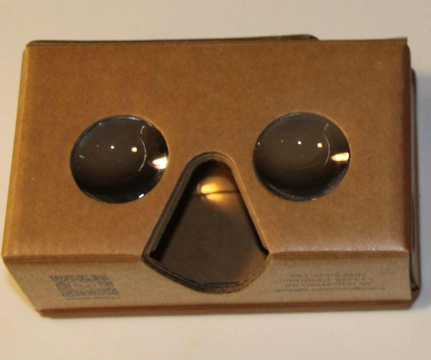 Google Cardboard meets Stereoscope