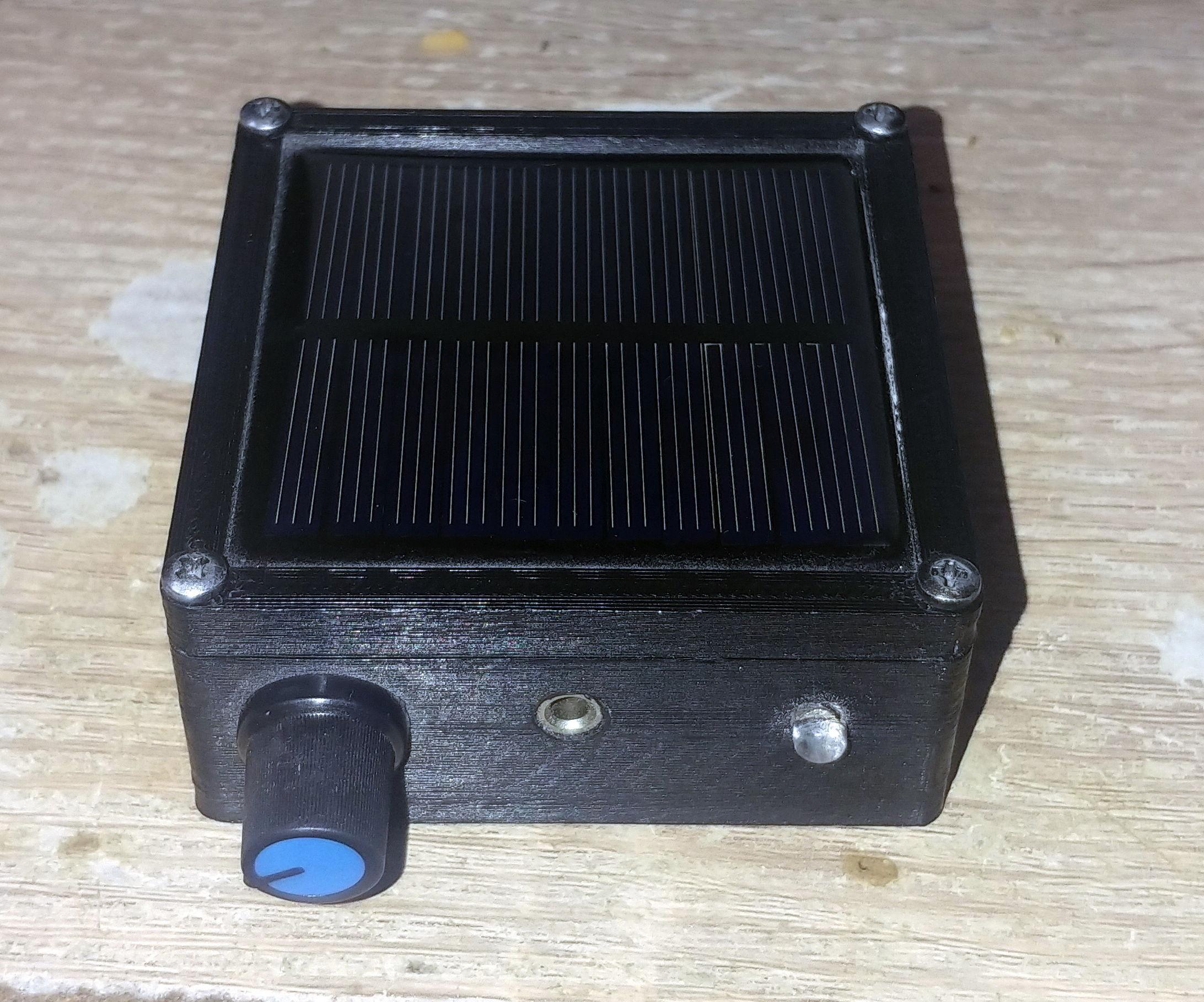 Portable Flickering Detector