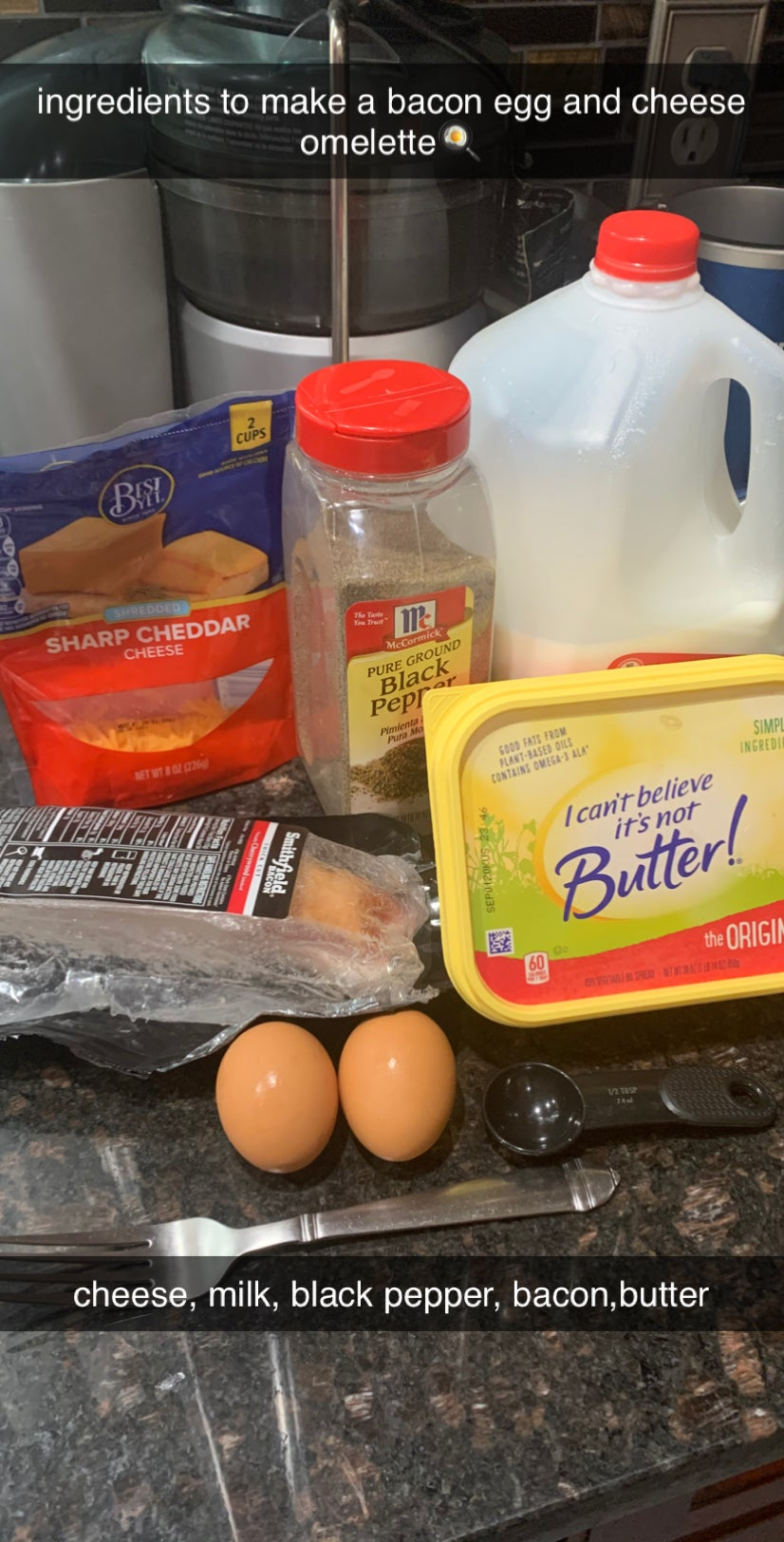 How to Make a Bacon, Egg and Cheese Omelette