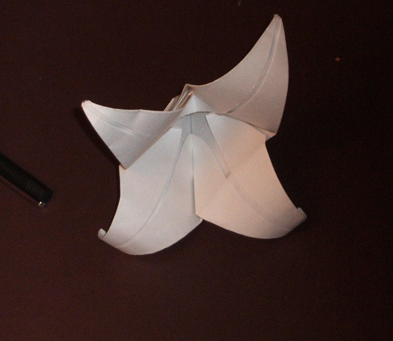 Make an Origami Tulip