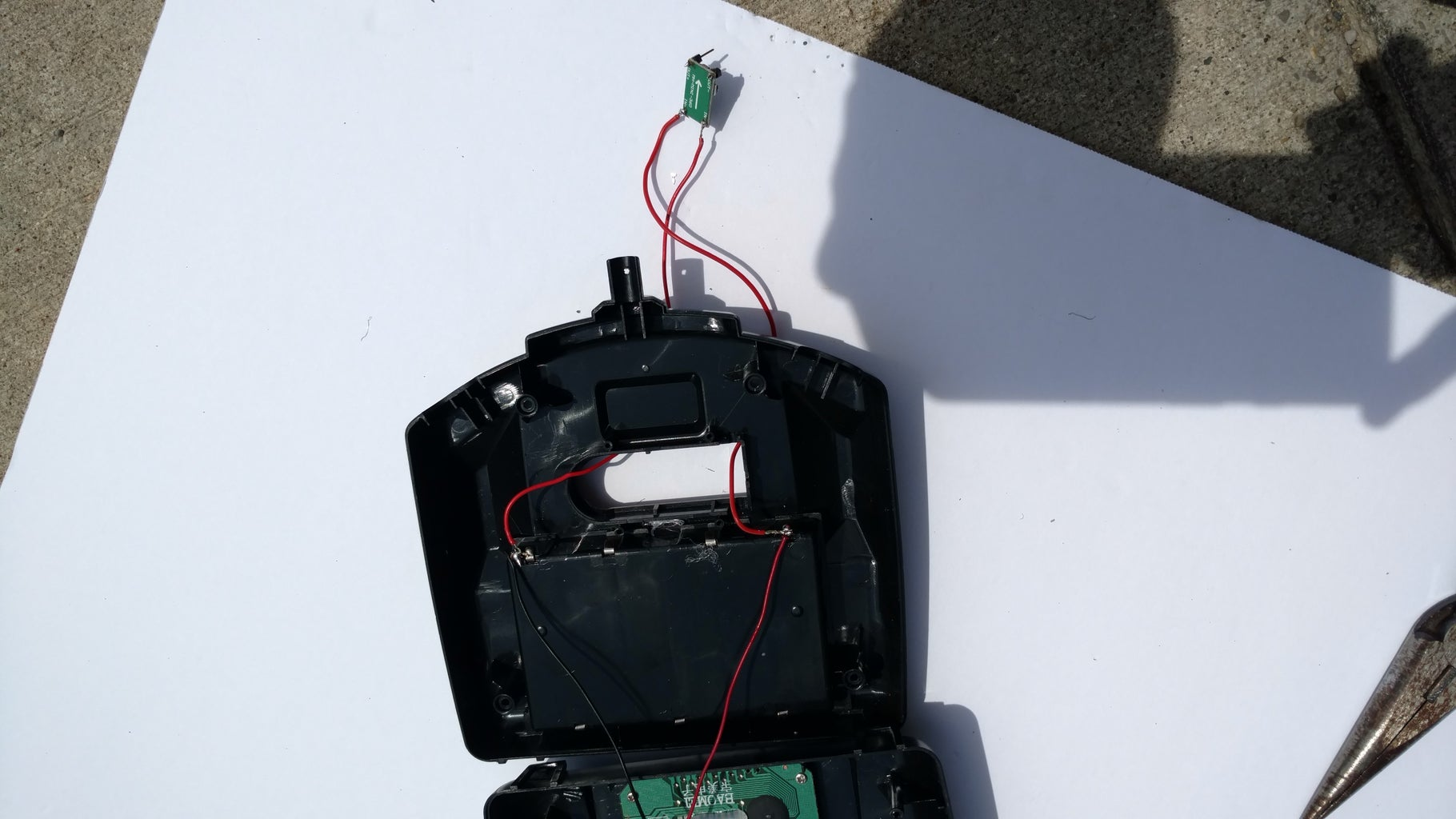 Solder the Voltage Step Down Module