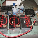 Old car battery power back-up