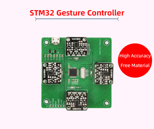 STM32 Gesture Control Develop Module