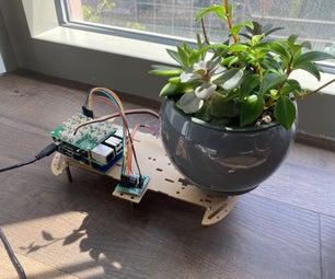 Automatic Plant Rotator with Sunlight Sensor