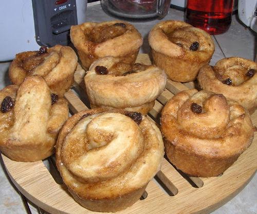 Cinnamon Roll-Muffins