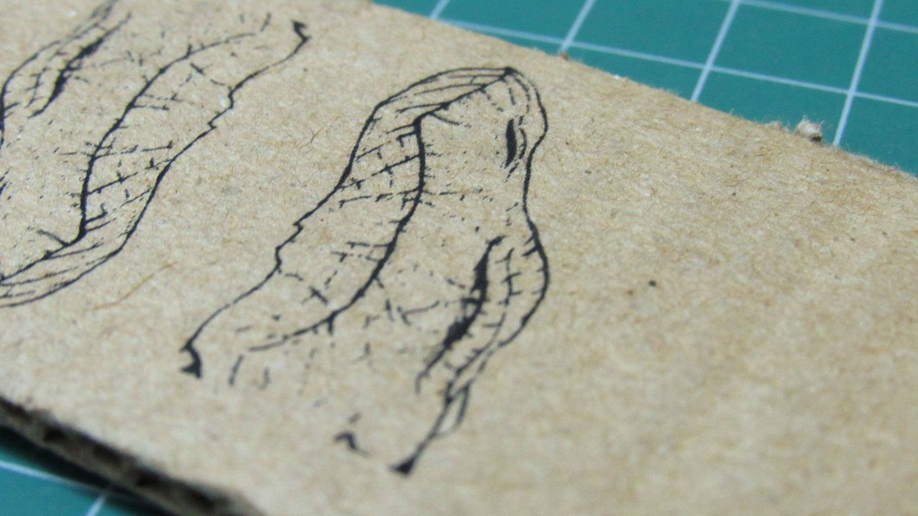 Engraving Cardbaord