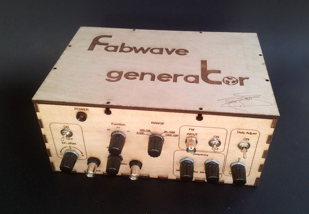 Low cost  waveform generator (0 - 20MHz)