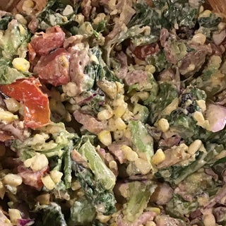 Grilled Tex Mex Romaine Salad