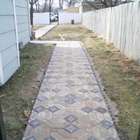 Make a Backyard Path