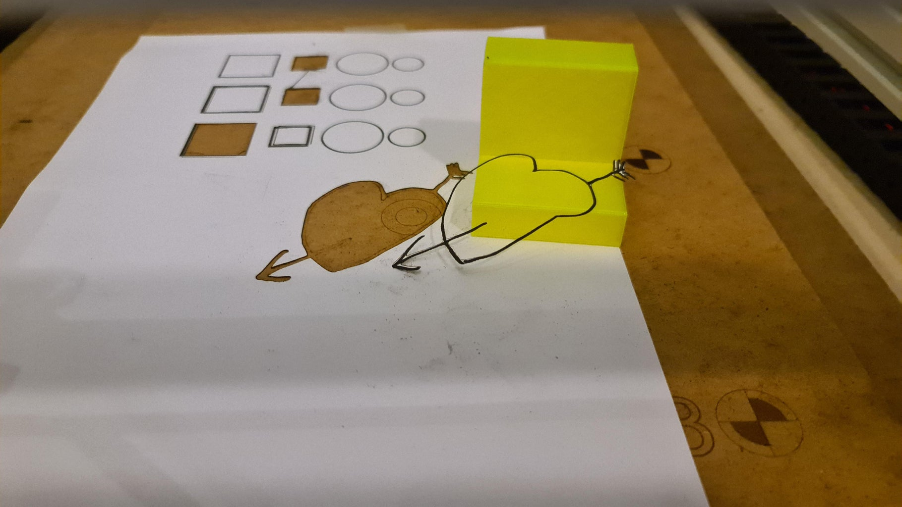 Using Your Camera for Tracing Drawings and Pictures