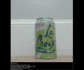 RPi Easy Object Detection - La Croix Flavor Detector