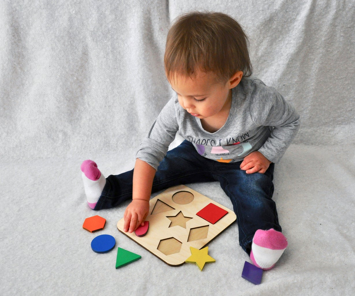 Wooden Shapes Puzzle