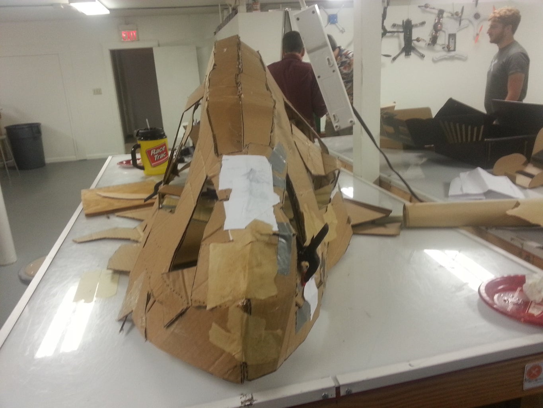 Cardboard- ASSEMBLE!