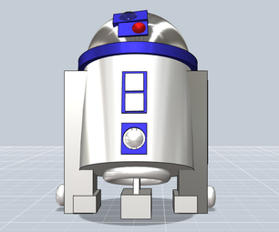 """R2D2 From the """"Star Wars"""" Movies"""