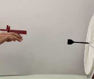 3D印刷的掷镖的镖的跑车设置了用飞镖枪