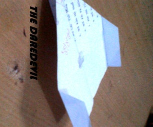 How to Make the Daredevil Paper Airplane