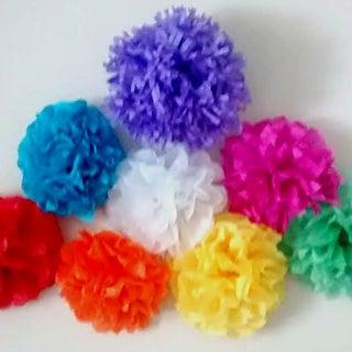 DIY : How to Make Tissue Paper Flower | Arts & Crafts | Decoration