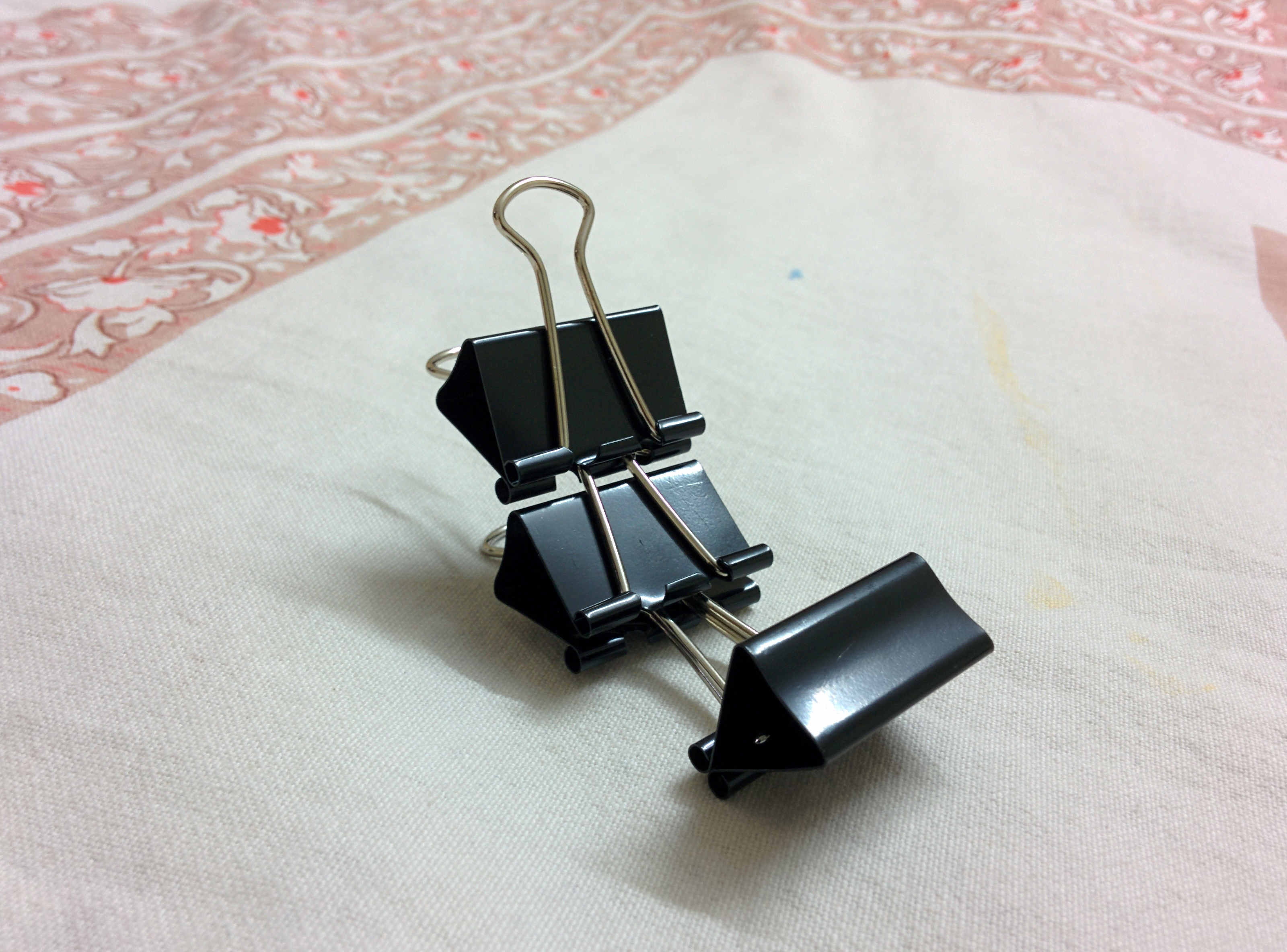 Binder Clip Phone Stand