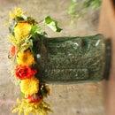 Summer Solstice Floral Head Wreath