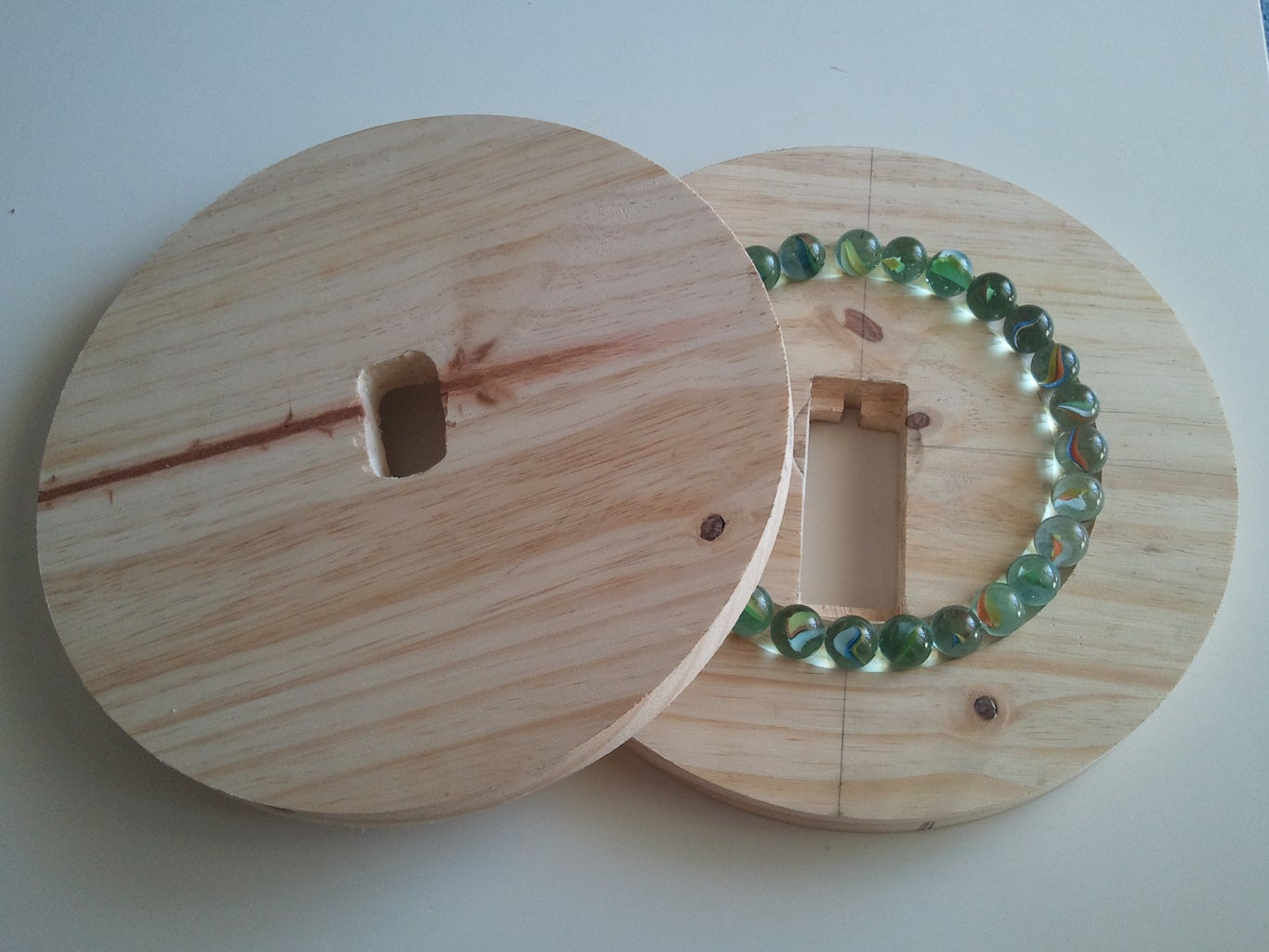 Joining the Wooden Plates Together