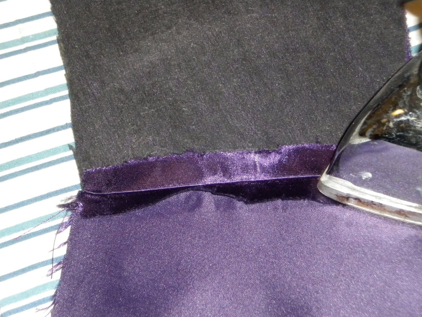 Sew Front Lining to Back Lining