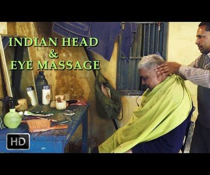 Indian Head & Eye Massage - World Best Indian Head Massage -Learn Massage