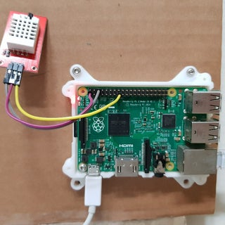 Raspberry PI and DHT22 Temperature and Humidity Logger With LAMP and Email Warnings