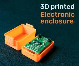 3D Printed Electronic Enclosure