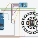 Tinker CAD Neopixel Clock