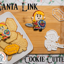 Santa Link Cookie Cutter