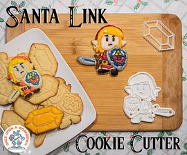 圣诞老人链接饼干刀具