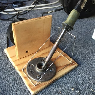 Soldering Iron Stand (Made Out of Wire)