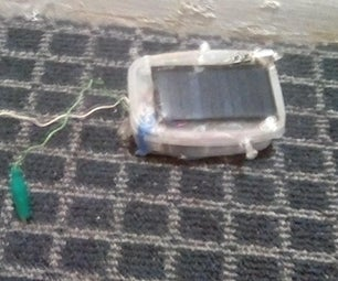 Updated Solar Laser + Led Now With Power Bank