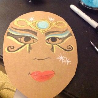Cleopatra Facepaint