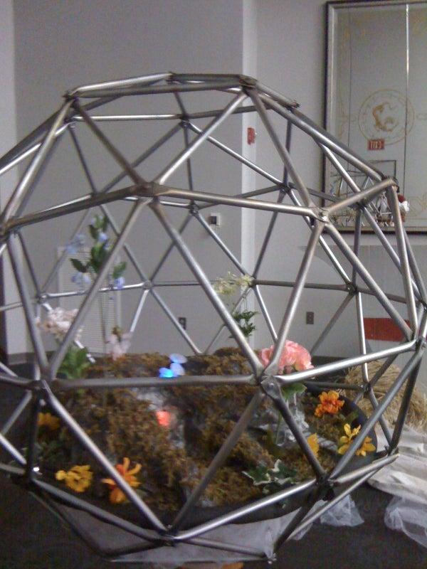 Steampunk Geodesic Terrarium