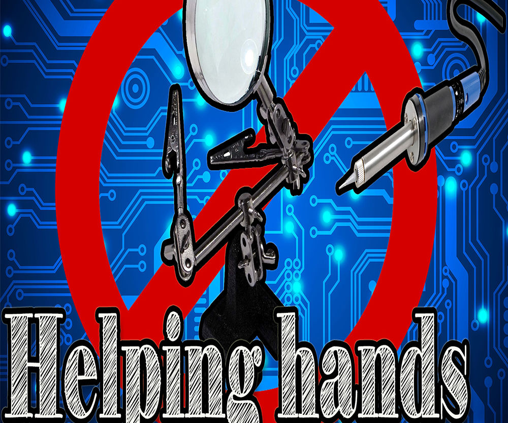 How to Make a Helping Hands for Soldering at Home Cheap
