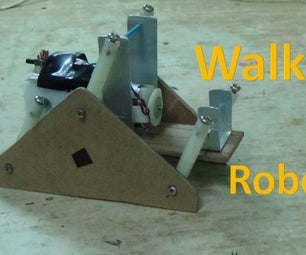 Robot Which Can Walk on Irregular Surface