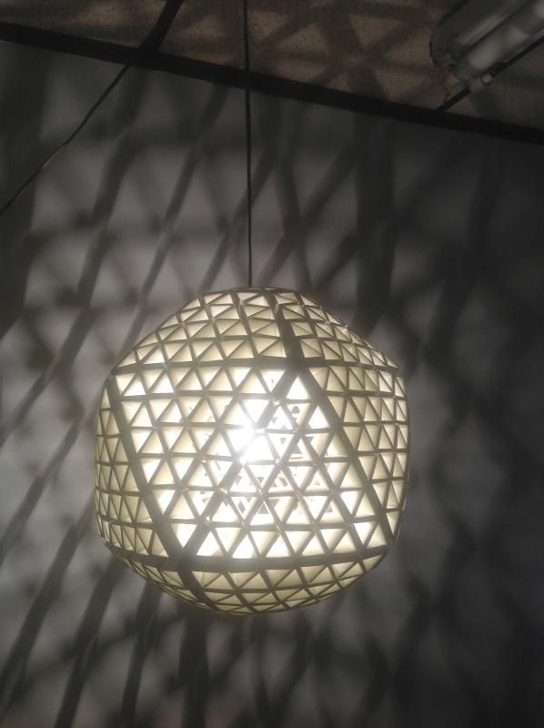 Lamp Shade, Paper, Modular