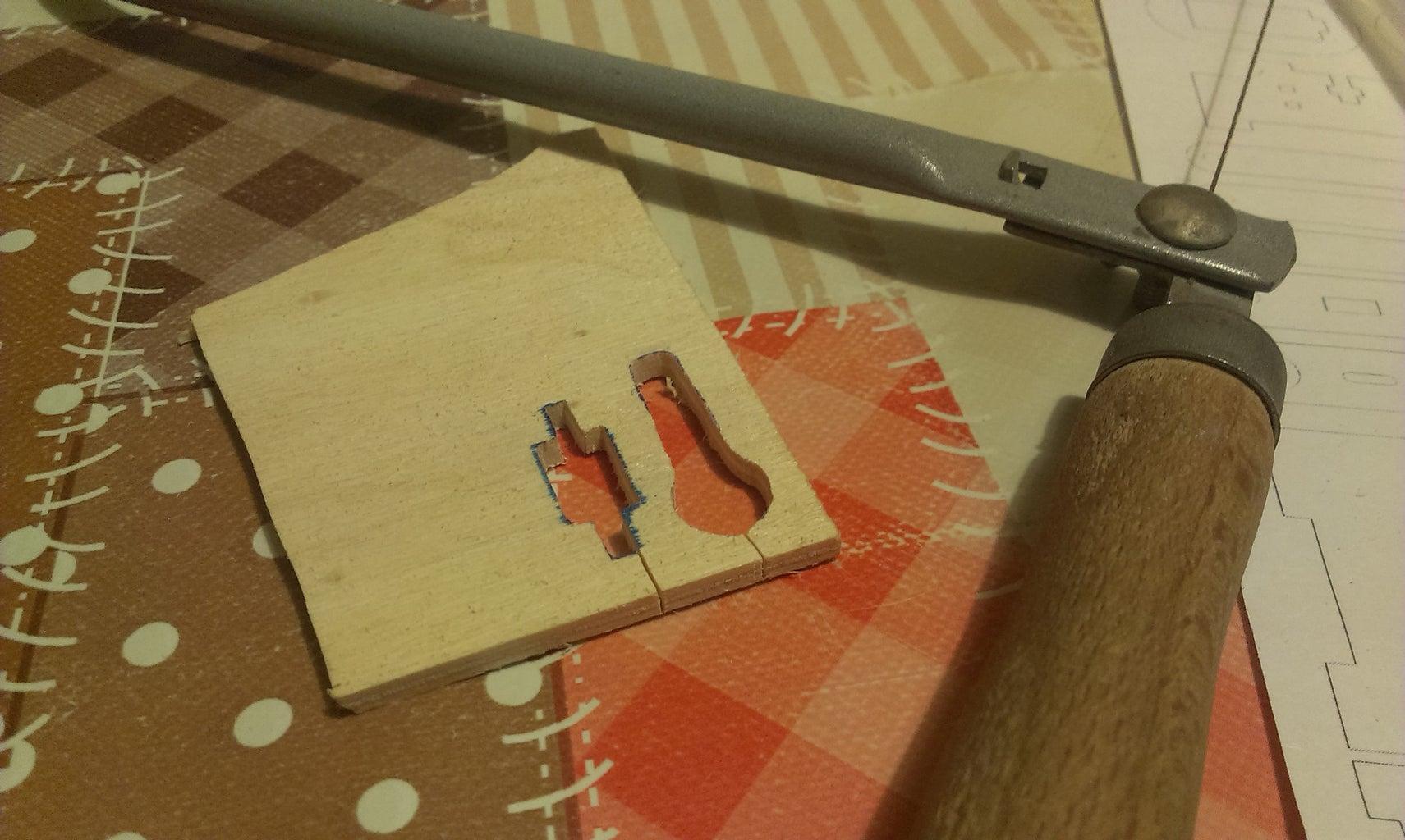 Cut All Wooden Parts