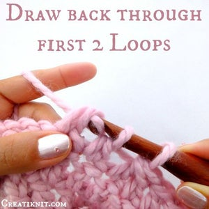 Draw Back Through First 2 Loops Only.